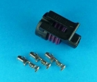 3 PIN CON FEMALE TO SUIT TPS / PRESSURE SENSOR