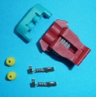 GM VE EVAP SOLENOID 2 PIN CON FEMALE